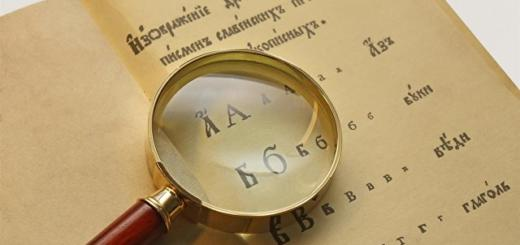 На каком русском языке говорили до реформы 1918 года. Тест
