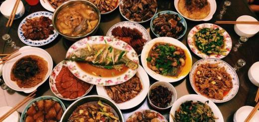 Секреты Старого Китая. О принципиальной разнице китайской кухни - от родной и привычной нашей
