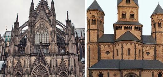Романика VS Готика: Как отличить два популярных архитектурных стиля прошлого