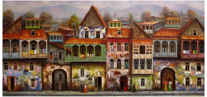 Современное искусство может быть искусством. Давид Мартиашвили