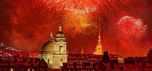 Поздравляем Санкт-Петербург. События 27.05.20